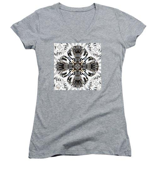 Legacy Women's V-Neck T-Shirt (Junior Cut) by Jim Pavelle