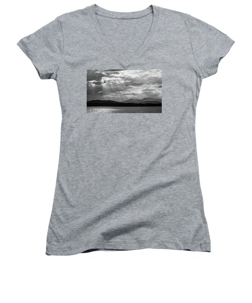 Let's Get Lost Women's V-Neck T-Shirt