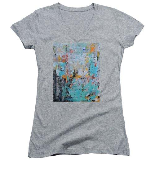 Letting Go Again Women's V-Neck T-Shirt