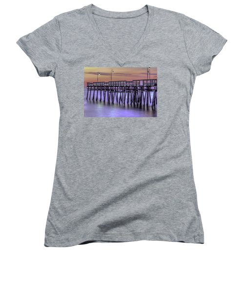 Little Island Pier Women's V-Neck
