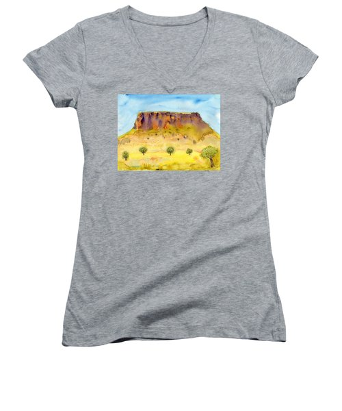 Little Table Mountain Women's V-Neck (Athletic Fit)