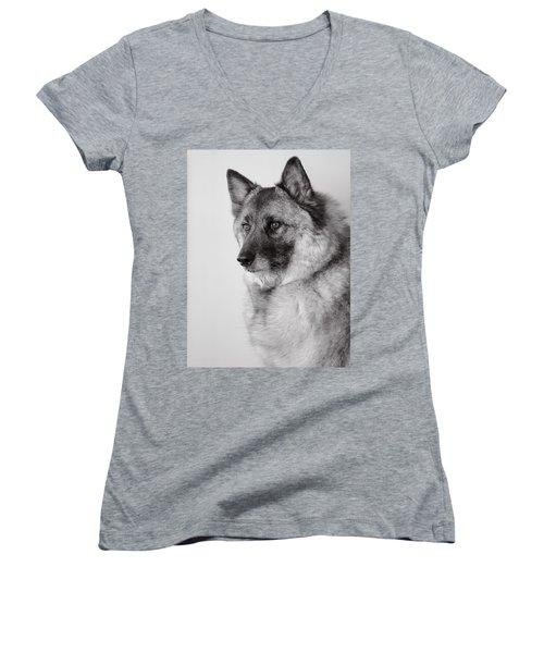 Dog Loki Women's V-Neck