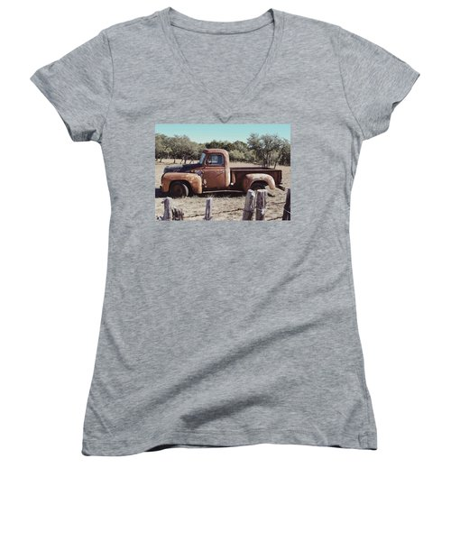 Lost In Time Women's V-Neck