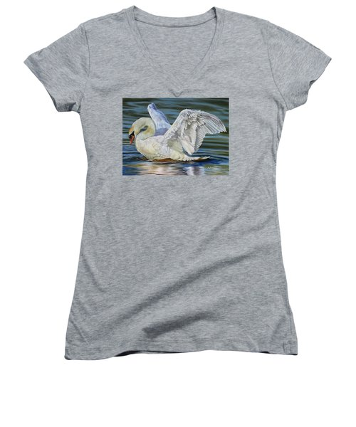 Lovely Women's V-Neck T-Shirt