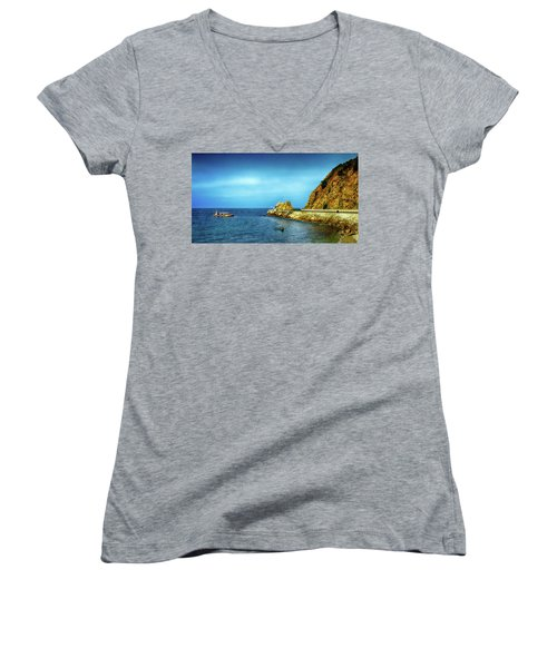 Lovers Cove Women's V-Neck T-Shirt
