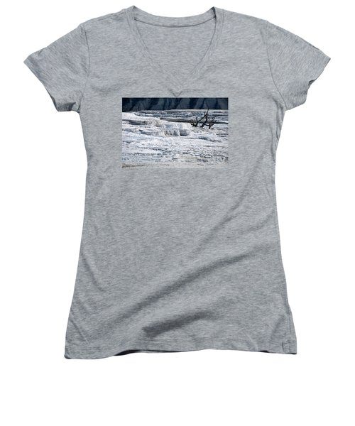 Mammoth Terraces Women's V-Neck (Athletic Fit)