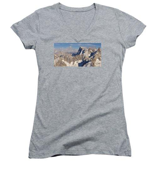 Mont Blanc Du Tacul Women's V-Neck