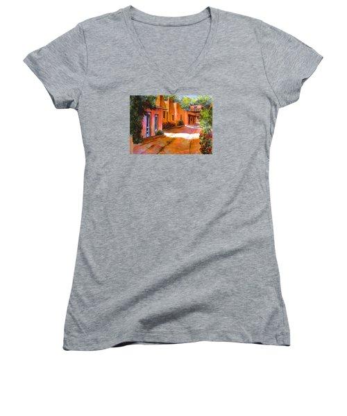 Near Canyon Road Women's V-Neck T-Shirt