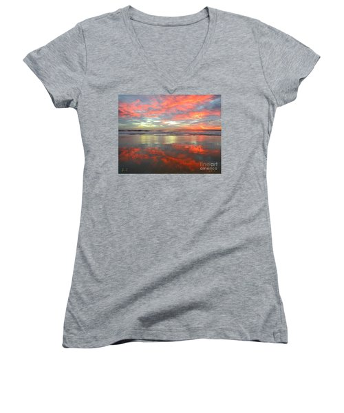 North County Reflections Women's V-Neck (Athletic Fit)