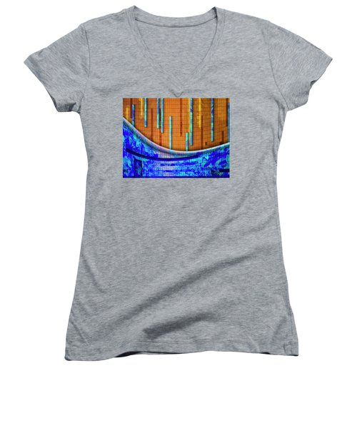 Women's V-Neck T-Shirt (Junior Cut) featuring the photograph Nothing Is True by Paul Wear