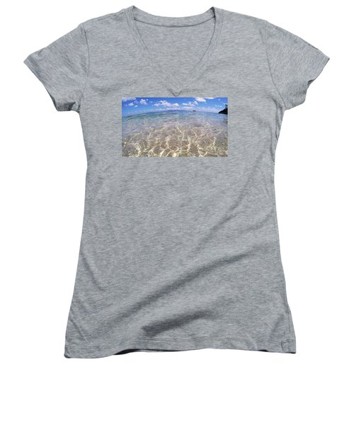 On The Horizon Women's V-Neck (Athletic Fit)