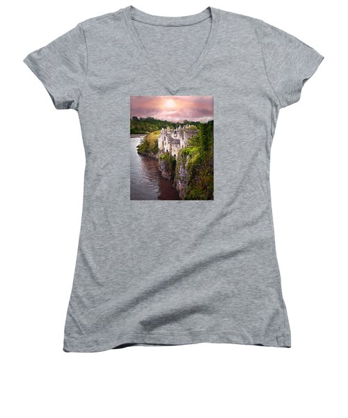 Once Upon A Time Women's V-Neck T-Shirt