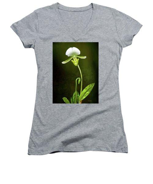 Orchid Women's V-Neck T-Shirt