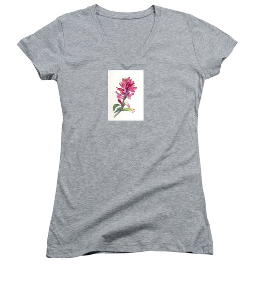 Paintbrush Women's V-Neck