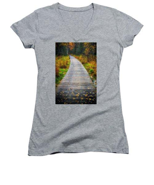 Pathway Home Women's V-Neck T-Shirt