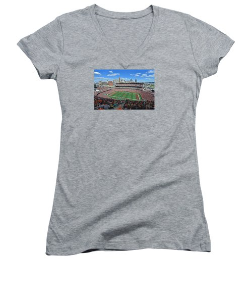Paul Brown Stadium - Cincinnati Bengals Women's V-Neck
