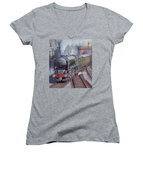 Peppercorn Pacific. Women's V-Neck T-Shirt (Junior Cut) by Mike  Jeffries