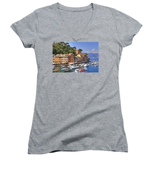 Portofino Women's V-Neck (Athletic Fit)