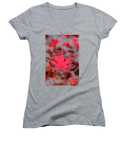 Proud Symbol Women's V-Neck T-Shirt