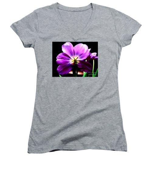 Radiance Women's V-Neck T-Shirt (Junior Cut) by Tim Townsend