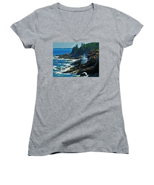 Rockport Shoreline Women's V-Neck (Athletic Fit)