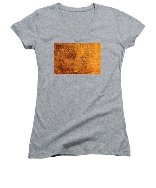 Women's V-Neck T-Shirt (Junior Cut) featuring the photograph Old Forgotten Solaris by John Williams