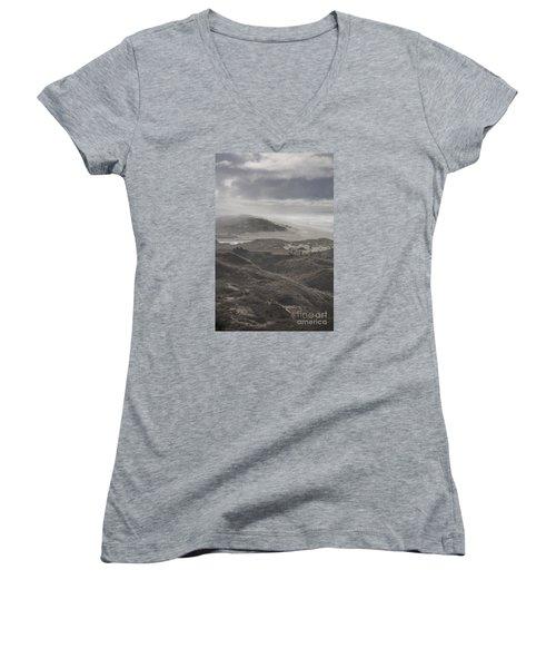 Sand Dunes Women's V-Neck