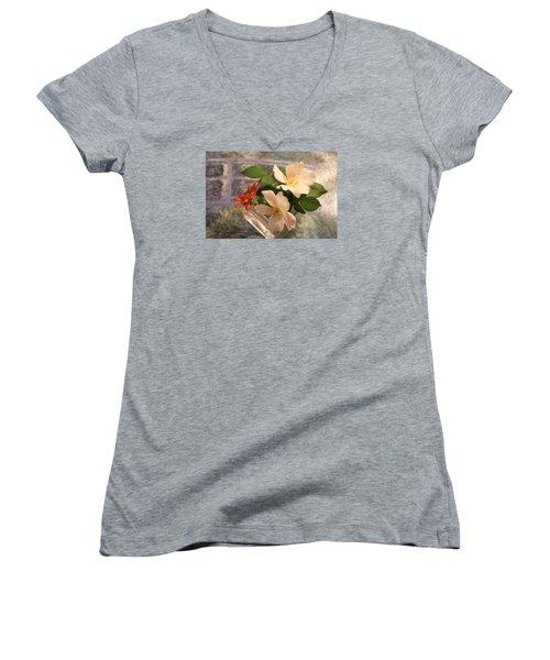 Sharon's Delight Women's V-Neck T-Shirt
