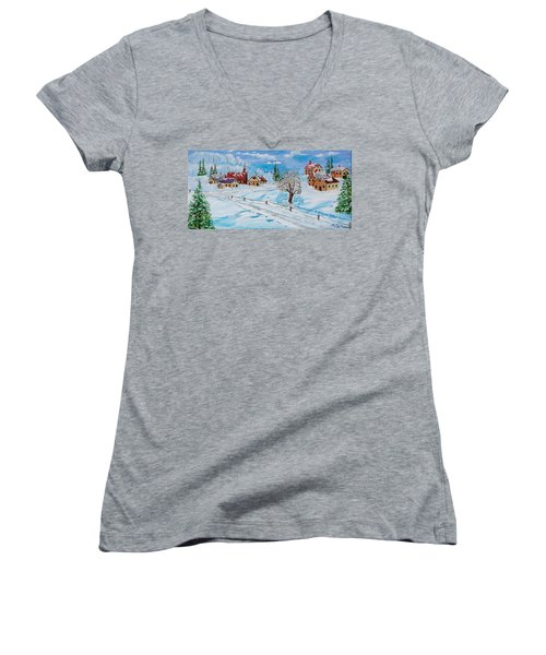 Winter Hamlet Women's V-Neck T-Shirt