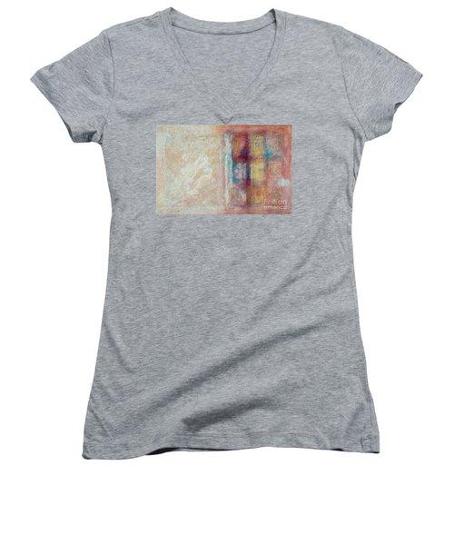 Spirit Matter Cosmos Women's V-Neck T-Shirt