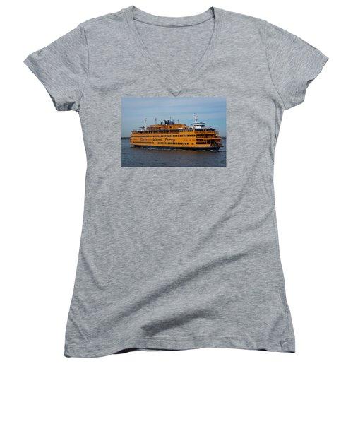 Staten Island Ferry Women's V-Neck