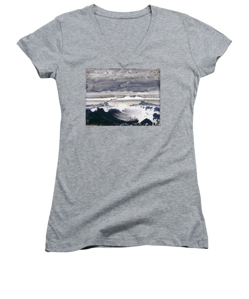 Stormy Sea Women's V-Neck