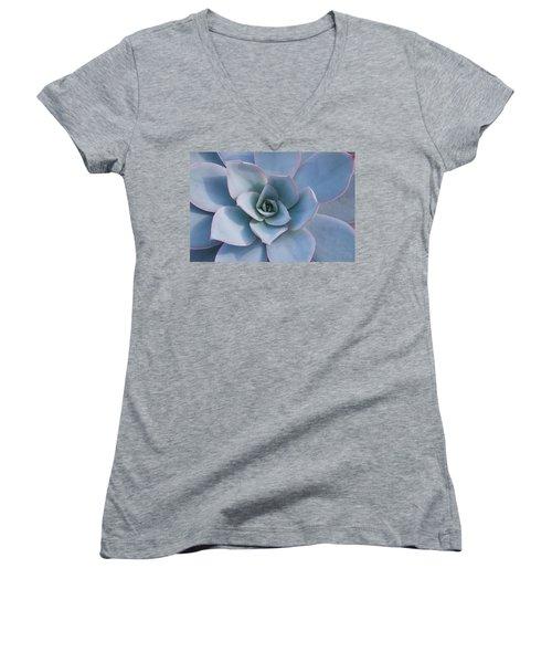 Succulent Beauty Women's V-Neck T-Shirt