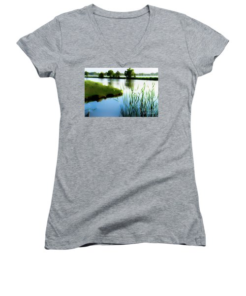 Summer Dreams Women's V-Neck T-Shirt