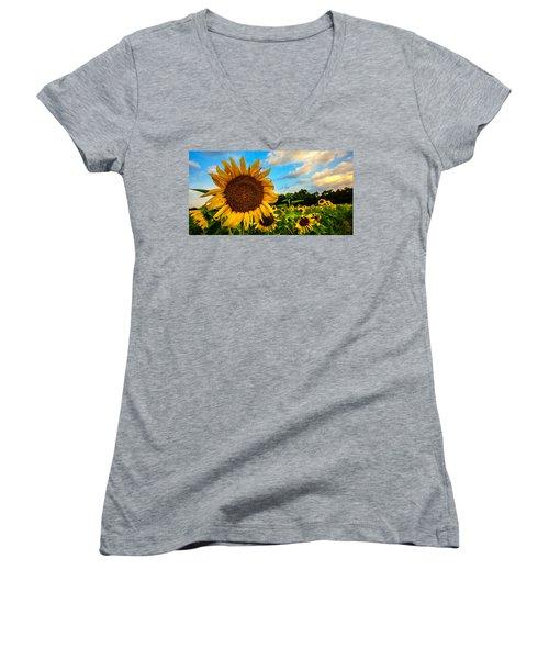 Summer Suns  Women's V-Neck