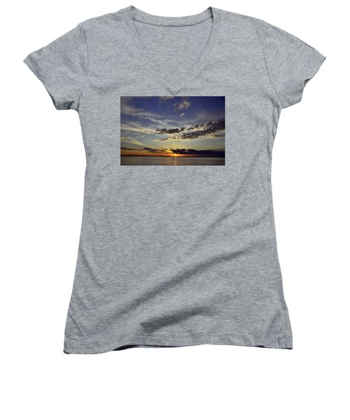 Sunrise Women's V-Neck T-Shirt