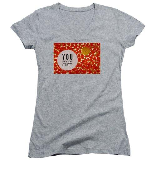 Sunshine Women's V-Neck T-Shirt