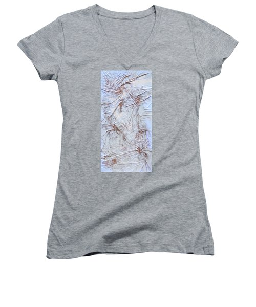 Textured Sunshine Women's V-Neck T-Shirt