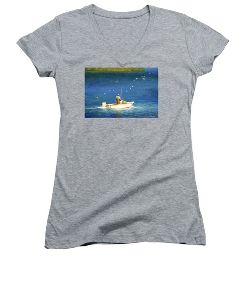 The Bayman Women's V-Neck (Athletic Fit)
