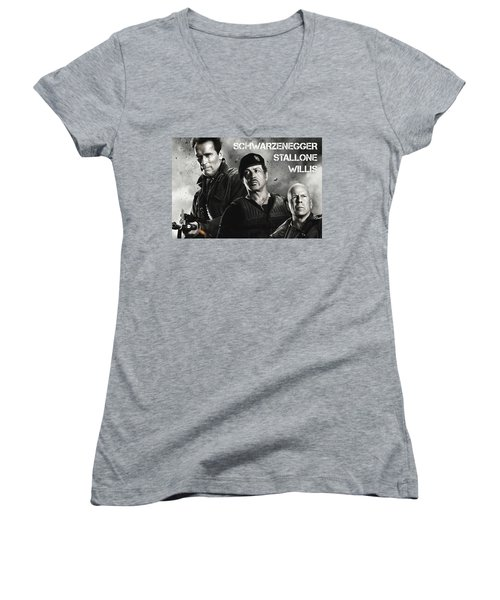 The Expendables 2 Women's V-Neck