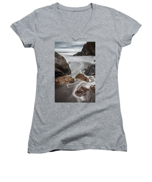 Time And Tide Women's V-Neck T-Shirt
