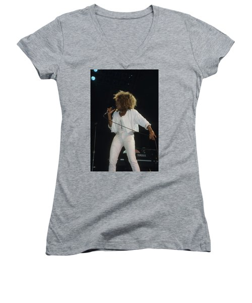 Tina Turner Women's V-Neck