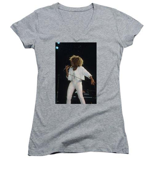Tina Turner Women's V-Neck