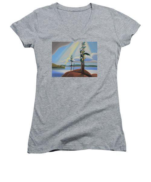 To The North Women's V-Neck