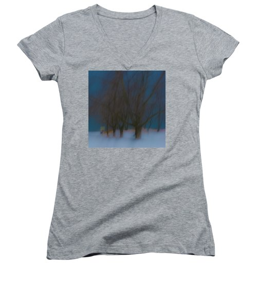 Tree Dreams Women's V-Neck