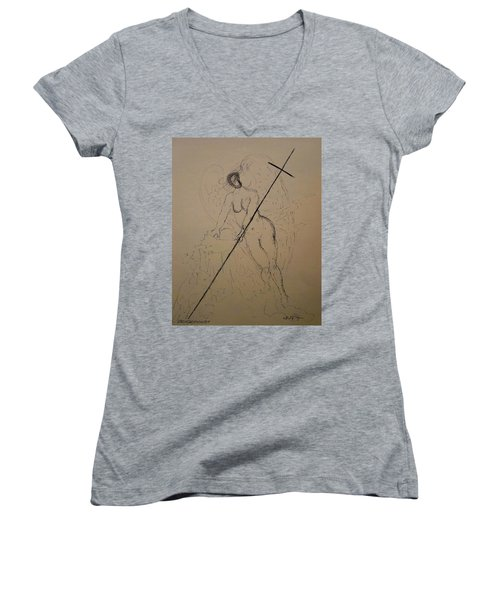 Unveiled Beauty Women's V-Neck