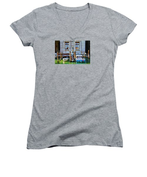 Venice Untitled Women's V-Neck T-Shirt