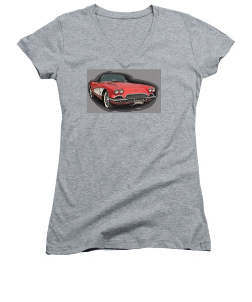 Vette Women's V-Neck T-Shirt