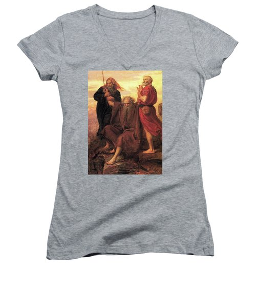 Victory O Lord Women's V-Neck