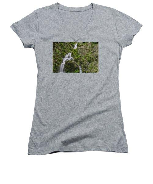 Left Or Right Women's V-Neck T-Shirt